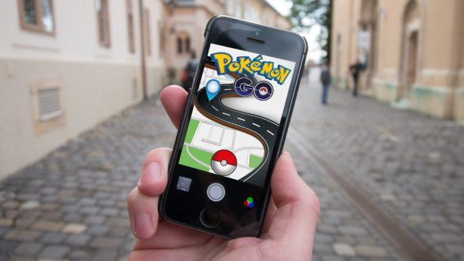 Pokémon GO auf einem Smartphone