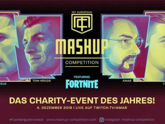 Plakat des Charity-Events mit Marco Reus und Toni Kroos